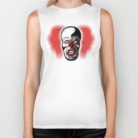pennywise Biker Tanks featuring Pennywise by Beery Method
