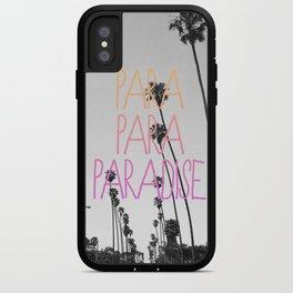 para para paradise :) iPhone Case