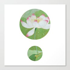 Pitter Patter Canvas Print