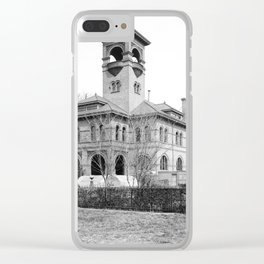 St. Ursula Hall, Ursuline Convent, New Orleans 1900 Clear iPhone Case