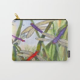 Dragonfly Summer Carry-All Pouch