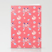 """sylveon Stationery Cards featuring """"Sweet"""" Fairy Bakery by Miski"""