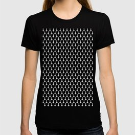 Inverted crosses T-shirt