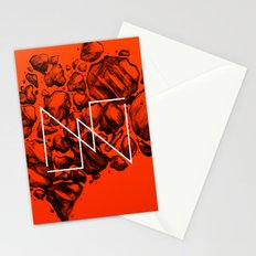 Old School Rocks (Orange Rock Version) Stationery Cards