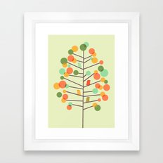 Happy Tree - Tweet Tweet Framed Art Print