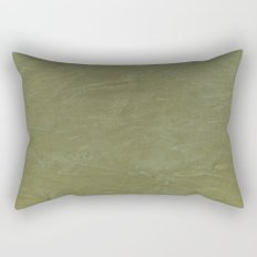 Italian Style Tuscan Olive Green Stucco - Wall Decor - House Decoration Rectangular Pillow