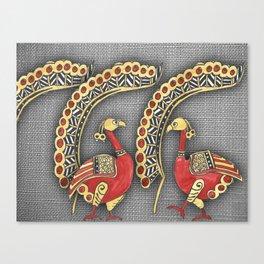 baseado nos elementos dos tecidos do al-andaluz Canvas Print