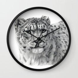 Panthera Uncia G003 Wall Clock