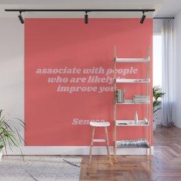 seneca quote Wall Mural
