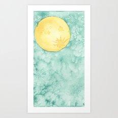 When The Moon Hits Your Eye Art Print