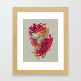 Castiel   Silent Hunter Framed Art Print