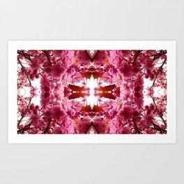 Blossomfly Art Print