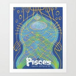 Pisces Print Art Print
