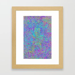 5ht2a stem Framed Art Print