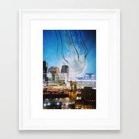 cincinnati Framed Art Prints featuring Cincinnati by John Turck