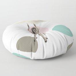 cloudy day Floor Pillow