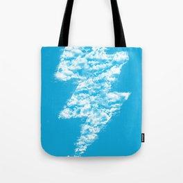 Lightning Peace Tote Bag