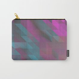 Tri Squares Carry-All Pouch