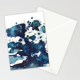 Cloudy skies and a few drops of rain. Stationery Cards