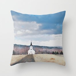 Simple Faith Throw Pillow