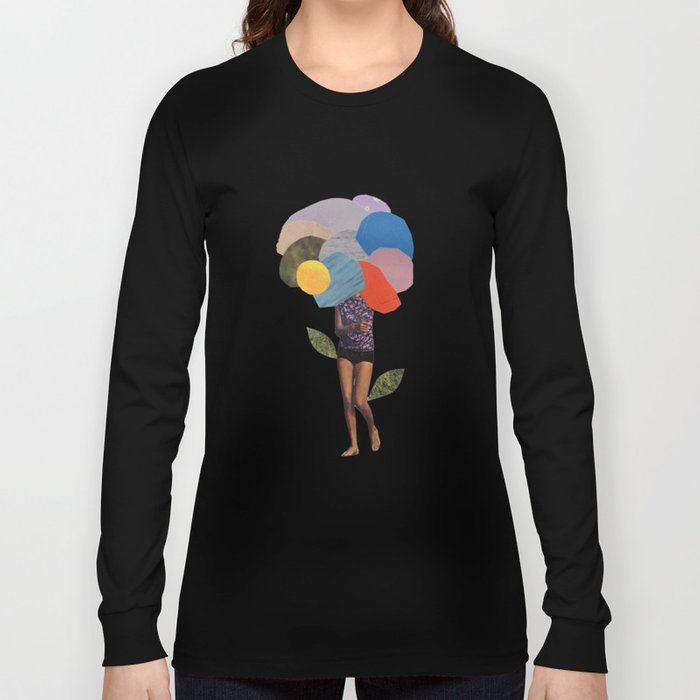 i dream of you amid the flowers Long Sleeve T-shirt