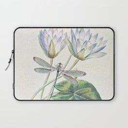 lotus and dragonfly Laptop Sleeve