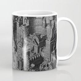 The Fantasy City. Urban Landscape Illustration. Coffee Mug