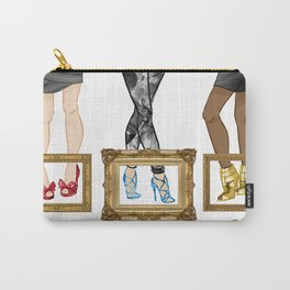 High heels making me look and feel taller | By Priscilla Li Carry-All Pouch
