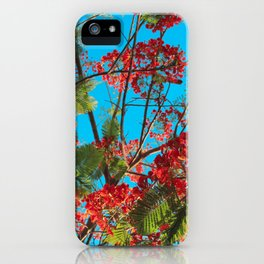 Bright Tropical Tree iPhone Case
