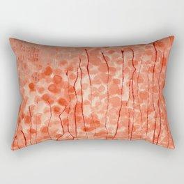 Dappled Coral Rectangular Pillow