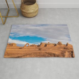 Delicate Arch 0414 - Arches National Park, Moab, Utah Rug