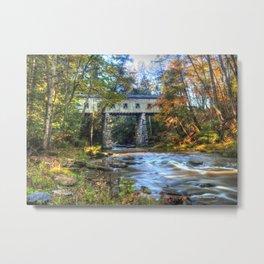 Windsor Mills Covered Bridge Metal Print