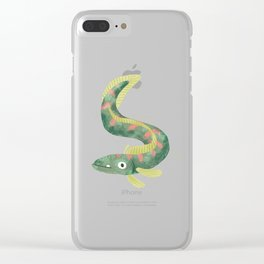 Wiggly Fish Clear iPhone Case