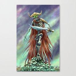 Corpse Warrior Canvas Print