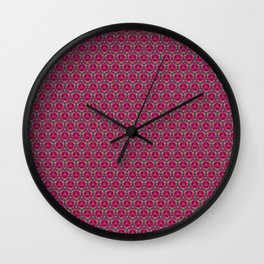 Apples Pattern Wall Clock