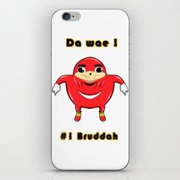Uganda Knuckles iPhone Skin