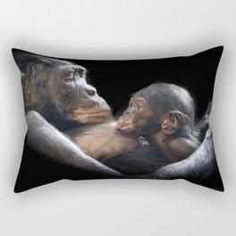 affectionate close Rectangular Pillow