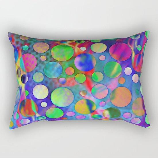Joyful Dots 3 Rectangular Pillow