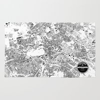 berlin Area & Throw Rugs featuring BERLIN by Maps Factory