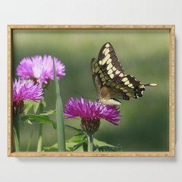 Flutterby Serving Tray