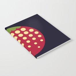 strawberry    russian black Notebook