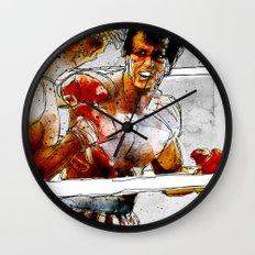 Boxing: Rocky Balboa vs Drago Wall Clock