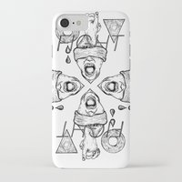 fight iPhone & iPod Cases featuring Fight by Benson Koo