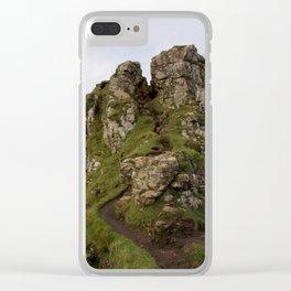 The Fairy Glen, Skye Clear iPhone Case
