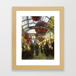 #CalendariodeAdviento. 2014 Framed Art Print