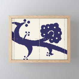 Spanish Ceramic Tiles Framed Mini Art Print