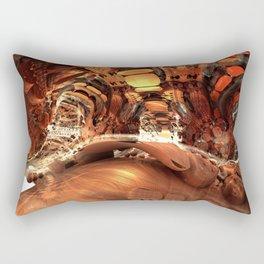Pong 25 / / #fractal #fractals #3d Rectangular Pillow