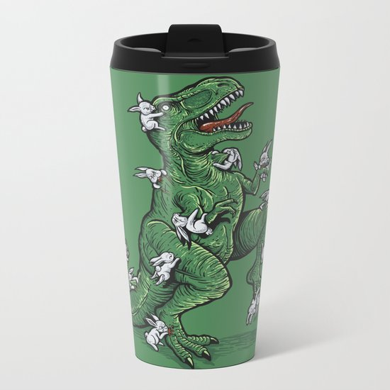 The Hunt Metal Travel Mug