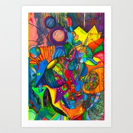 Miracleye Art Print