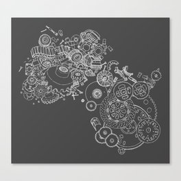 Shifting Gears Canvas Print